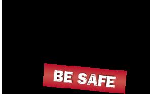 AMK-Be-Safe-Logo-BLACK-RED
